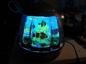 Fish Aquarium Motion Night Light Lamp Great for Kid's Room Office More