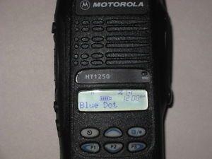 Motorola HT1250 128 Channel 2 Way VHF Portable Radio Lot R1