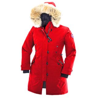 New 2013 Canada GOOSE Kensington Parka Down Jacket for Women Red s Small