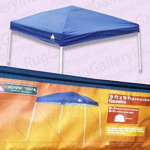 ... Ozark Trail 9u0027 x 9u0027 Express Slant Leg Canopy Gazebo Lightweight Outdoor FGA99SL ... & New Ozark Trail 13 ft x 9 ft Outdoor Screen House Camping ...