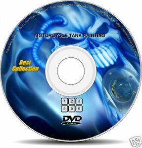 Custom Paint Bike Motorcycle Tank Airbrush DVD