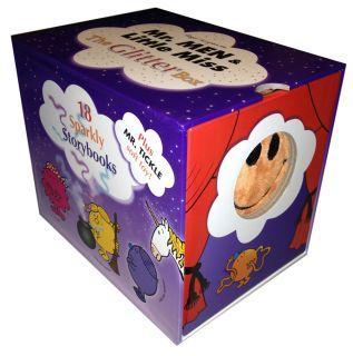 Mr Men Little Miss Glitter Box Set Collection 18 Books Mr Tickle Soft Toy