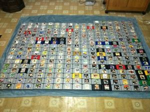 Complete Nintendo 64 Video Game Collection All 296 North American N64 Games