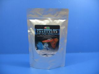 Guppy Mineral Salt 400G Hard Water Mollies Swordtails Platys Ph Alkalinity