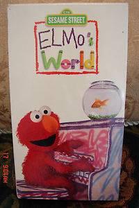Sesame Street's Elmo's World Dancing Music Books Free SHIP w