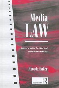 New Media Law by Rhonda Baker Paperback Book English