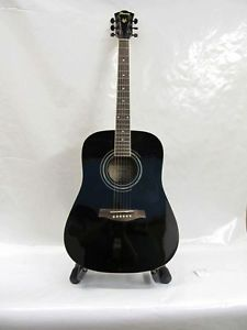 Ibanez V200S BK 3U 01 Acoustic Guitar with Case Free Shiipping