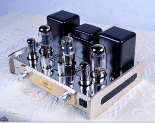 AC 220V KT88 98 5Z3PAT 6J8PJ Tube Amplifier Hi Fi Stereo Audio Amp