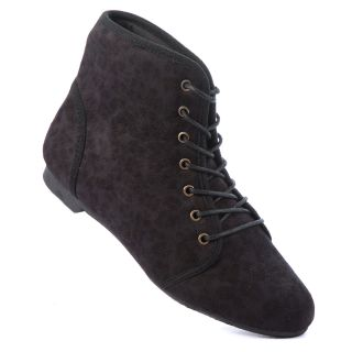 Women Lace Up Ankle Boot High Top Shoes Canvas Leopard Animal Print Multicolor
