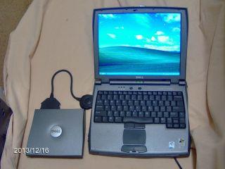"Wireless Dell Latitude C400 Laptop 12 1"" 1 2GHz Intel Pent III 60GB D 512MB RAM"