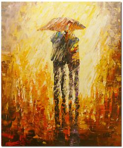 50x60cm Original Modern Abstract Palette Knife Portrait Oil Painting Canvas Art