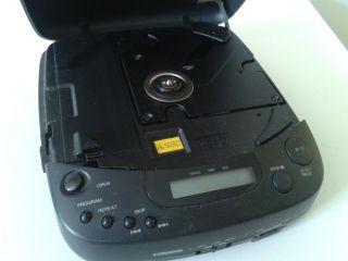Vintage Portable CD Player Walkman Goodmans GCD 46SXP