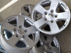 4 03 09 Dodge RAM 1500 Wheels and Tires Rims 265 70 17