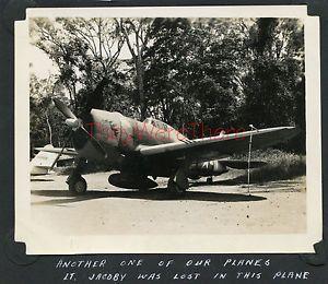 WWII Photo 348th FG P 47 Fighter Plane Nose Art Red Devil Kia