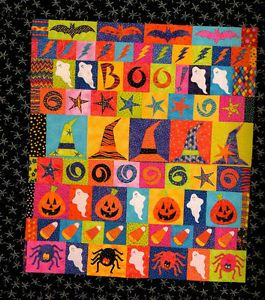 Fall Halloween Quilts Row by Rows Seasonal Designs Quilting Pattern Book New