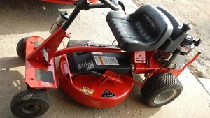 Snapper Riding Lawn Mower 9HP
