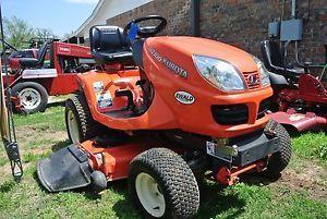"""2005 4WD 21HP Kubota GR2100 Riding Lawn Mower Garden Tractor 52"""" Deck HST Clean"""