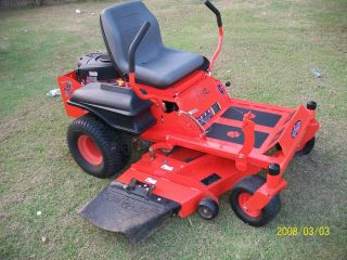 "Bad Boy Riding Mower 27 HP Briggs Stratton Motor 48"" Deck Real Good Condition"