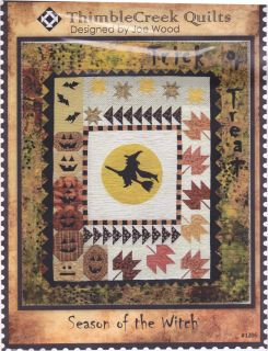 Thimblecreek Quilt Pattern Season of The Witch 9 Month Bom Block of The Month
