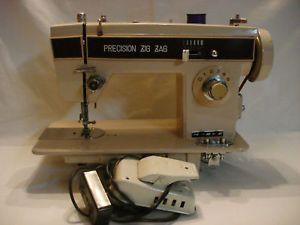 Morse Sewing Machine Model 1550A EC Precision Zig Zag