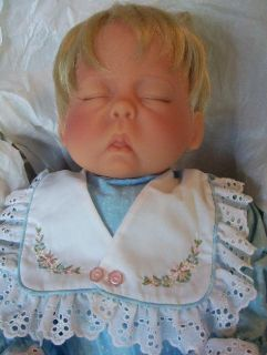 "Cat Nap Cherish Face Original Lee Middleton Doll 20"" Low Number 51"