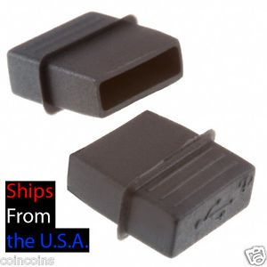 5 Standard USB Port Dust Cover Any Laptops and Desktop Dell Mac Sony Toshiba