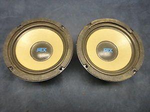 """MTX 6"""" Vintage """"Old School"""" Woofer Subwoofer Speakers"""