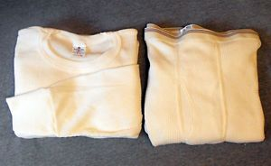 Set of Men's 6X Lightweight Thermal Underwear Long Johns Waffle Knit 6XL New