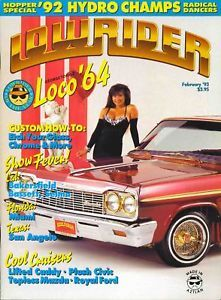 Lowrider Magazine 1993 Feb Shows Loco '64 Spring Sale Low Starting Bid Brand New