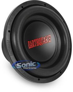 "Earthquake Sound Dbxi 12 DBXI12 12"" Single 4 Ohm Car Subwoofer Sub"