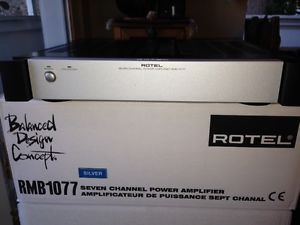 Rotel 7 Channel Power Amplifier RMB 1077