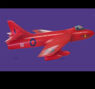 Hawker Hunter 1 1M Wing Span 1 5M Length EPO Electric RC Jet Airplane Red