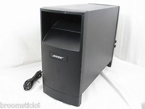 Bose Acoustimass 6 III Powered Black Active Subwoofer Sub Works w Any Receiver
