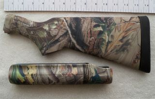 Remington 870 12 GA Stock Set Realtree APG Camo R3 Pad