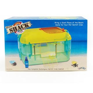 Super Pet Giant Little Crab Shack Hermit Crab Habitat Cage New