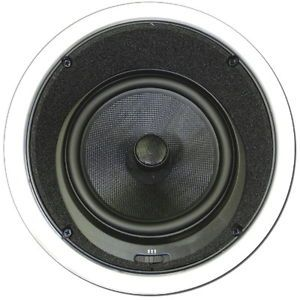 """Theater Solutions TSS8A 8"""" in Ceiling Surround Sound Home Theater Angled Speaker"""