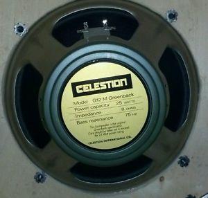 Celestion G12 M Greenback Guitar Speaker 8 Ohm 25 Watt