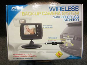 VR3 Wireless Car Back Up Camera System with Color LCD Monitor Never Used in Box