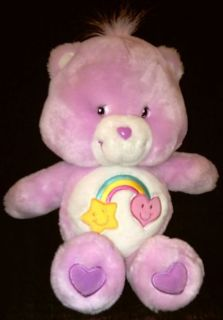 "Care Bear Talking Best Friend 13"" Plush Rainbow Star 04"