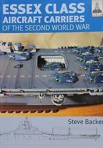 Chatham SHIP Craft Book USS Essex Class Aircraft Carriers of World War II