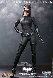 "Hot Toys Catwoman Dark Knight Rises Selina Kyle 12"" 1 6 Scale Figure MMS188"