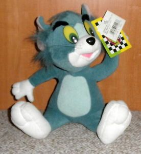 Cartoon Network Tom Jerry TV Show Stuffed Plush Toy Cat Animal New 1997
