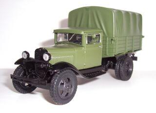 GAZ AA Russian USSR Military Truck WWII DeAgostini 1 43 Diecast Model Mag 75