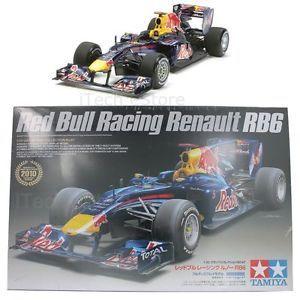 Tamiya Red Bull Racing F1 Formula 1 Renault RB6 Plastic Model Kit 1 20 20067