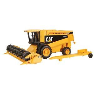 Bruder 1 16 Scale Cat Lexion Combine Harvester Toy Replica BNIB 02124