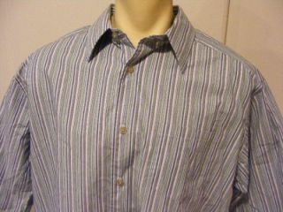 Mens Alexander Julian Colours Long Sleeve Button Up XL x Large Shirt Very Clean