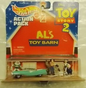 Al's Toy Barn Action Pack Toy Story 2 Hot Wheels
