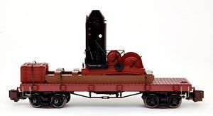 Bachmann G Scale Trains 1 20 3 Log Skidder w Crates 95699