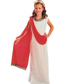 Childs Girls Aphrodite Greek Roman Costume Outfit Book Week Age 3 10yrs