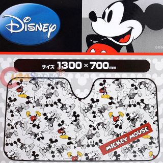 Disney Mickey Mouse Windshield Front Window Sun Shade Auto Accessories